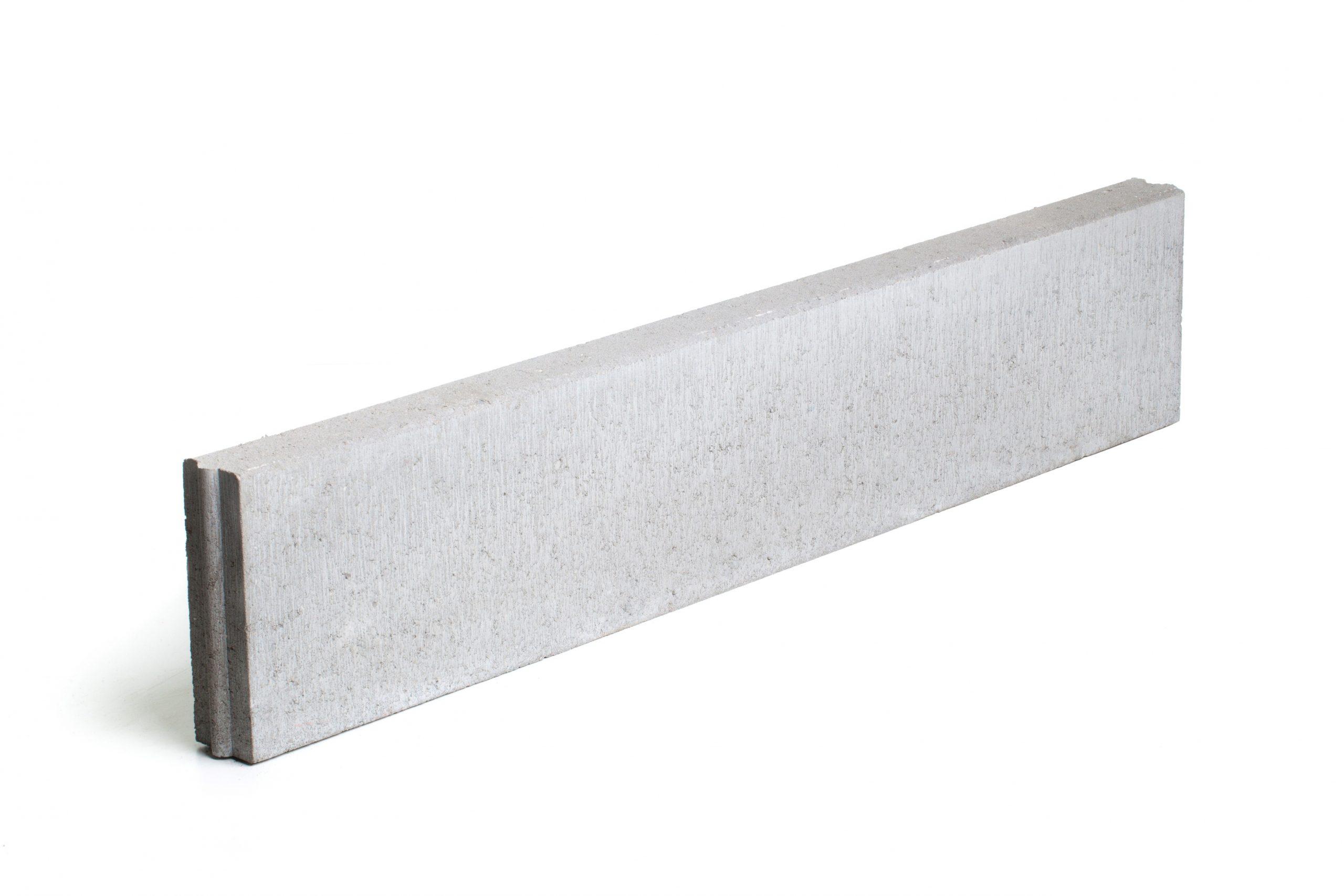 Bordure En Béton Grise 100 X 30 X 6 Cm - Mr.bricolage pour Bordure Beton 1M