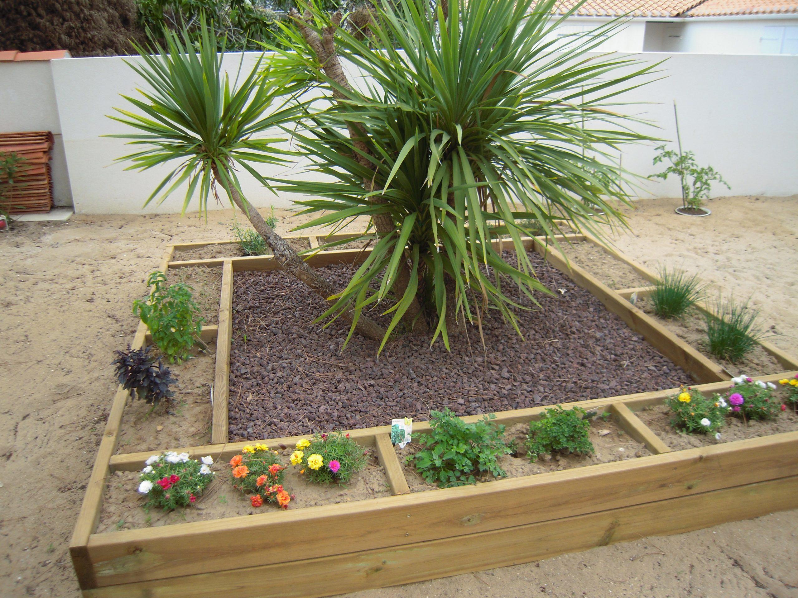 Bordures - Lerouvillois S. Aménagement De Jardins à Bordure Rondin Bois