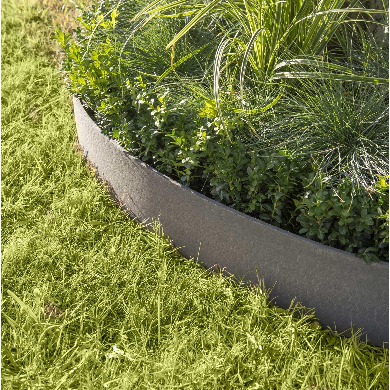Bordures Pour Jardin Vidaxl Set De 15 Clôtures De Pelouse ... intérieur Bordure Jardin Flexible