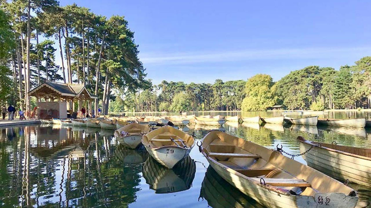 Boulogne Ormanı - Bois De Boulogne - Pariste concernant Pont De Jardin Bois
