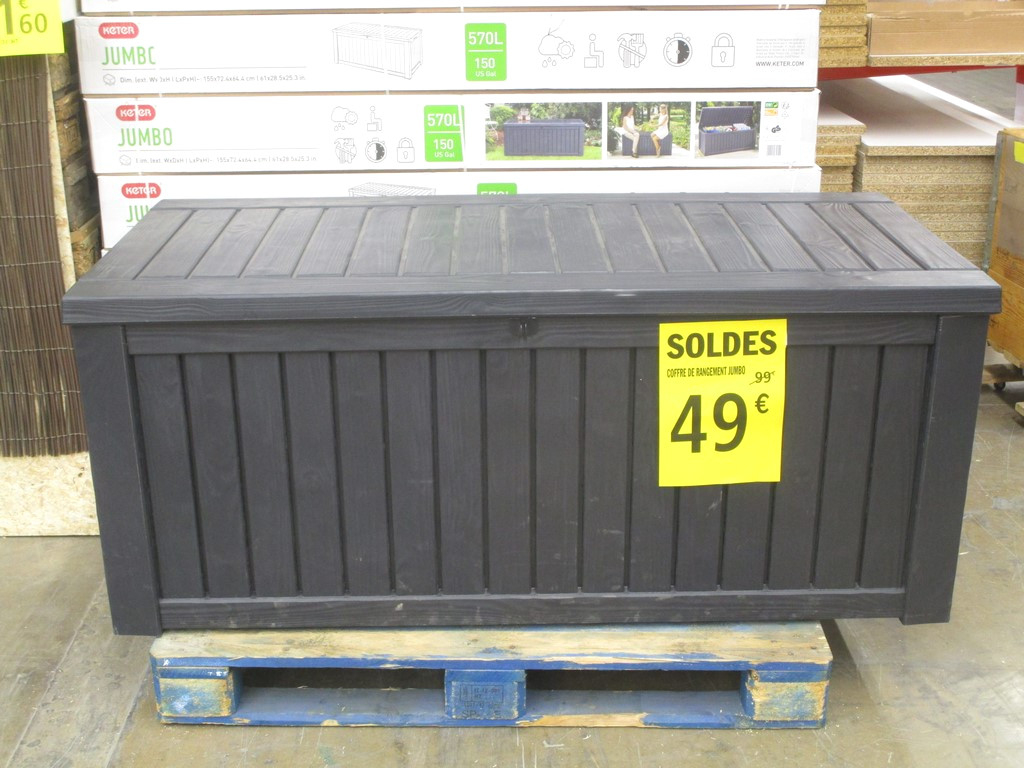 Brico Depot Coffre Rangement Jardin | Venus Et Judes serapportantà Coffre De Rangement Exterieur Brico Depot