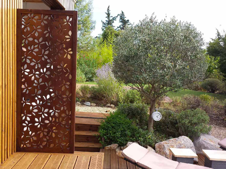 Brise Vue Design Pour Un Jardin : Pensez Au Bois ! encequiconcerne Claustra Pour Jardin