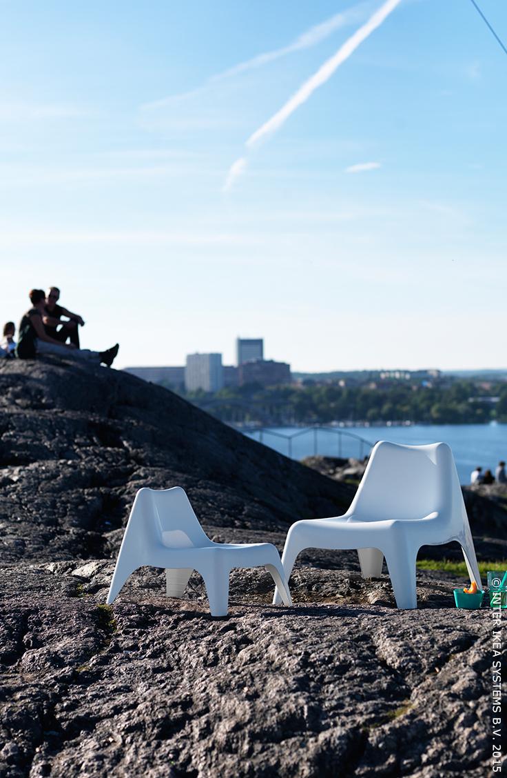 Bunsö Transat Enfant, Extérieur - Blanc   Outdoor, Ikea ... destiné Transat Jardin - Ikea