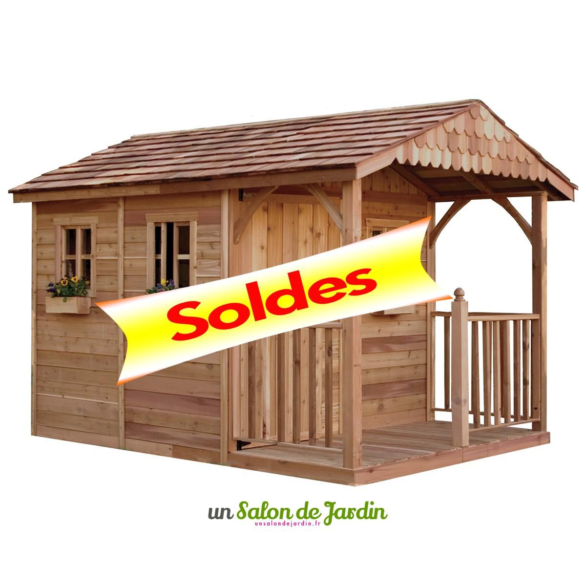 Cabane De Jardin En Bois Pas Cher Garten Moy Abri Terrasse ... dedans Abri Jardin Soldes