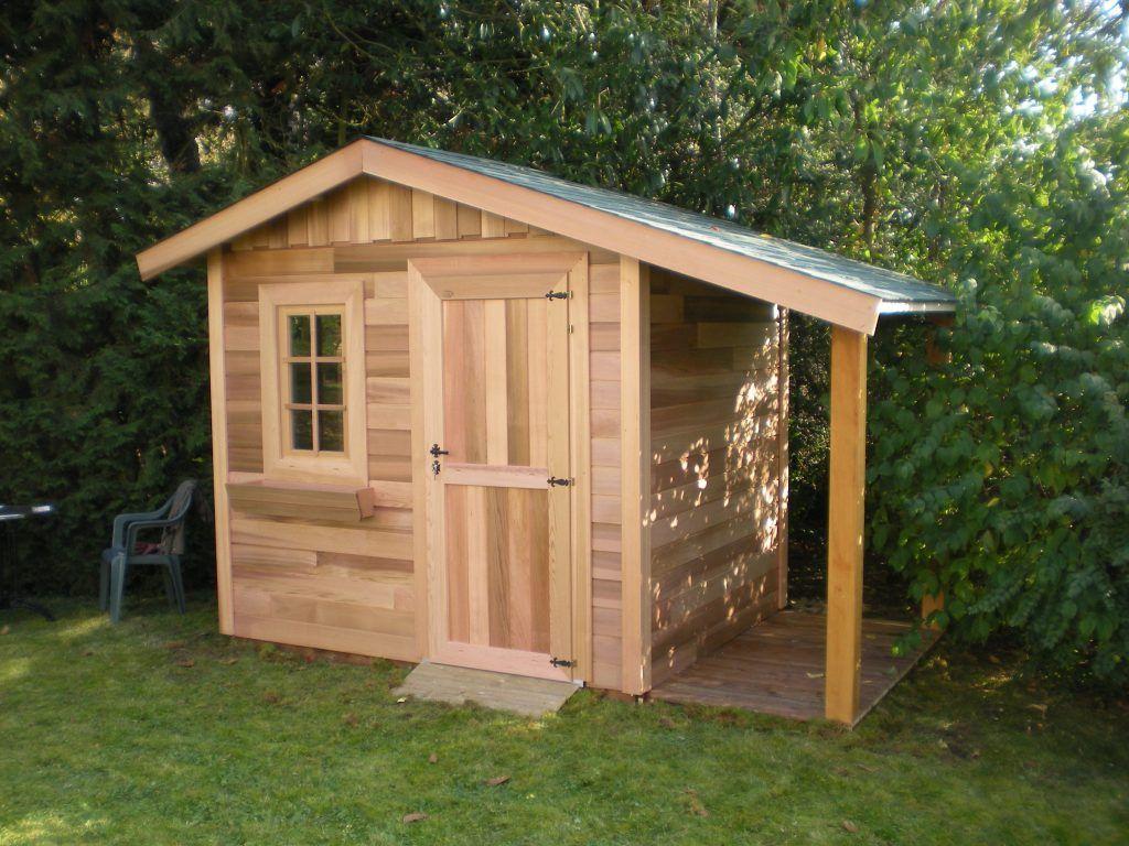 Cabane De Jardin Red Cedar | Abri De Jardin Bois, Abri De ... pour Cabane Jardin Bois