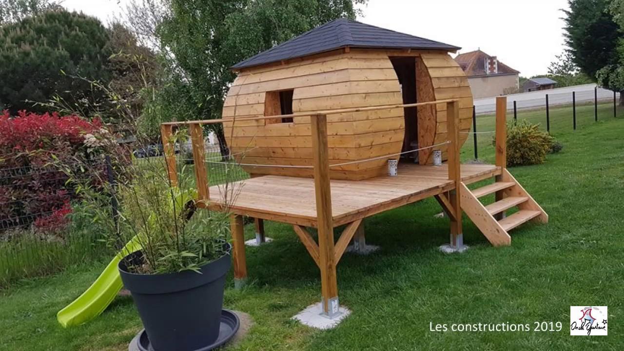 Cabane Enfant, Lit Cabane, Niche,abri De Jardin, Dôme Géodésique: Vos  Constructions 2019 destiné Abri Jardin Enfant
