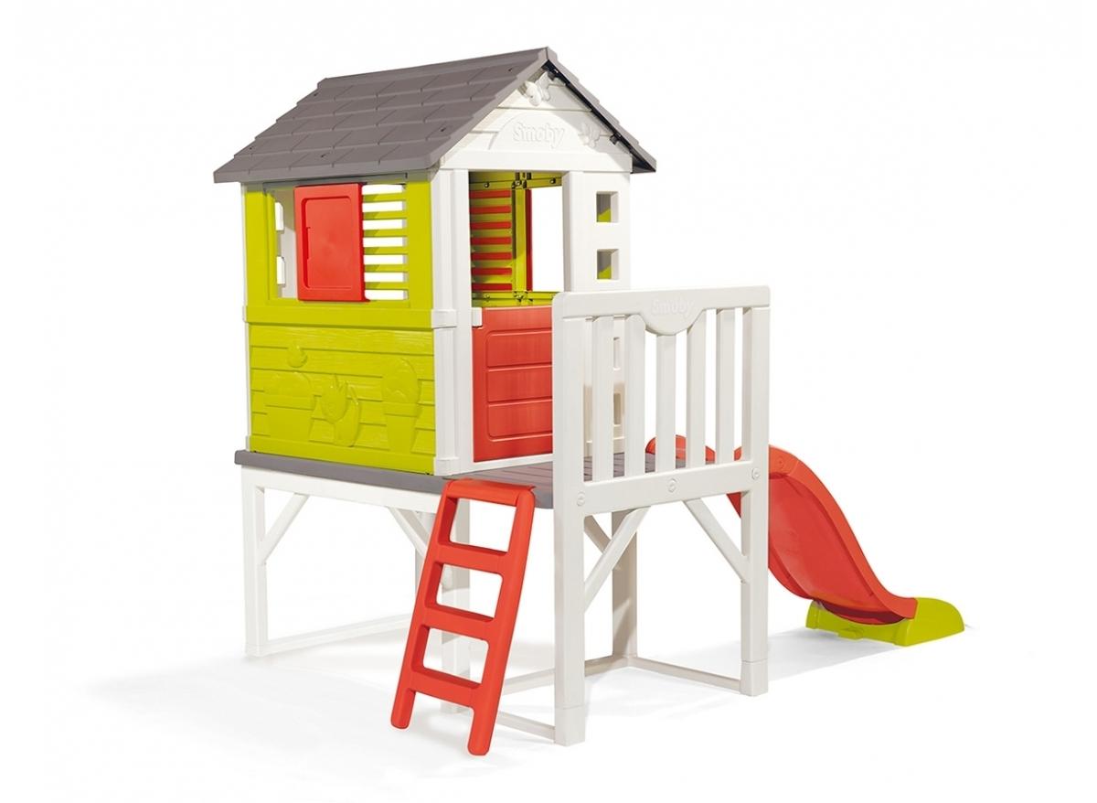Cabane Enfant Plastique Smoby Modèle Pilotis intérieur Cabane Smoby