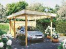 Carport Bois 1 Voiture, En Kit, Prix France, Pas Cher tout Carport Pas Cher