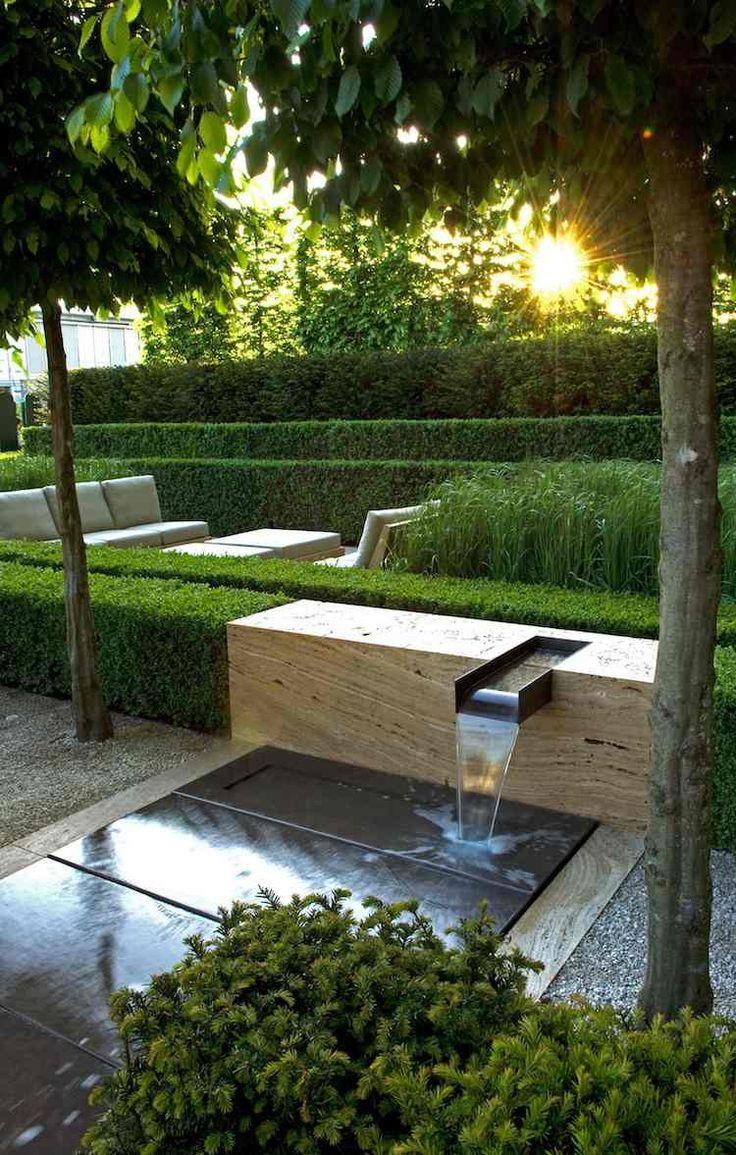 Cascade Jardin S'invite À L'extérieur Pour Le Rehausser –20 ... à Architecte Exterieur Jardin