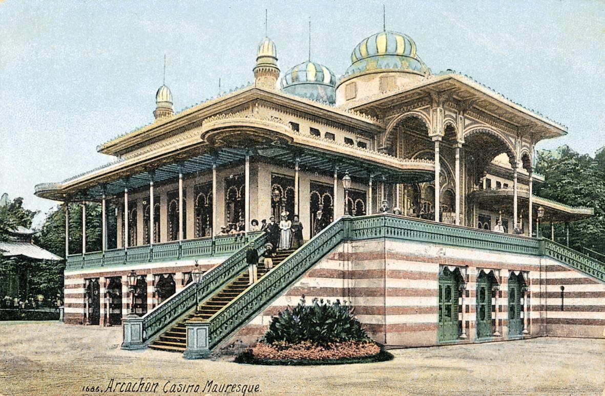 Casino Mauresque — Wikipédia concernant Jardin Mauresque Arcachon
