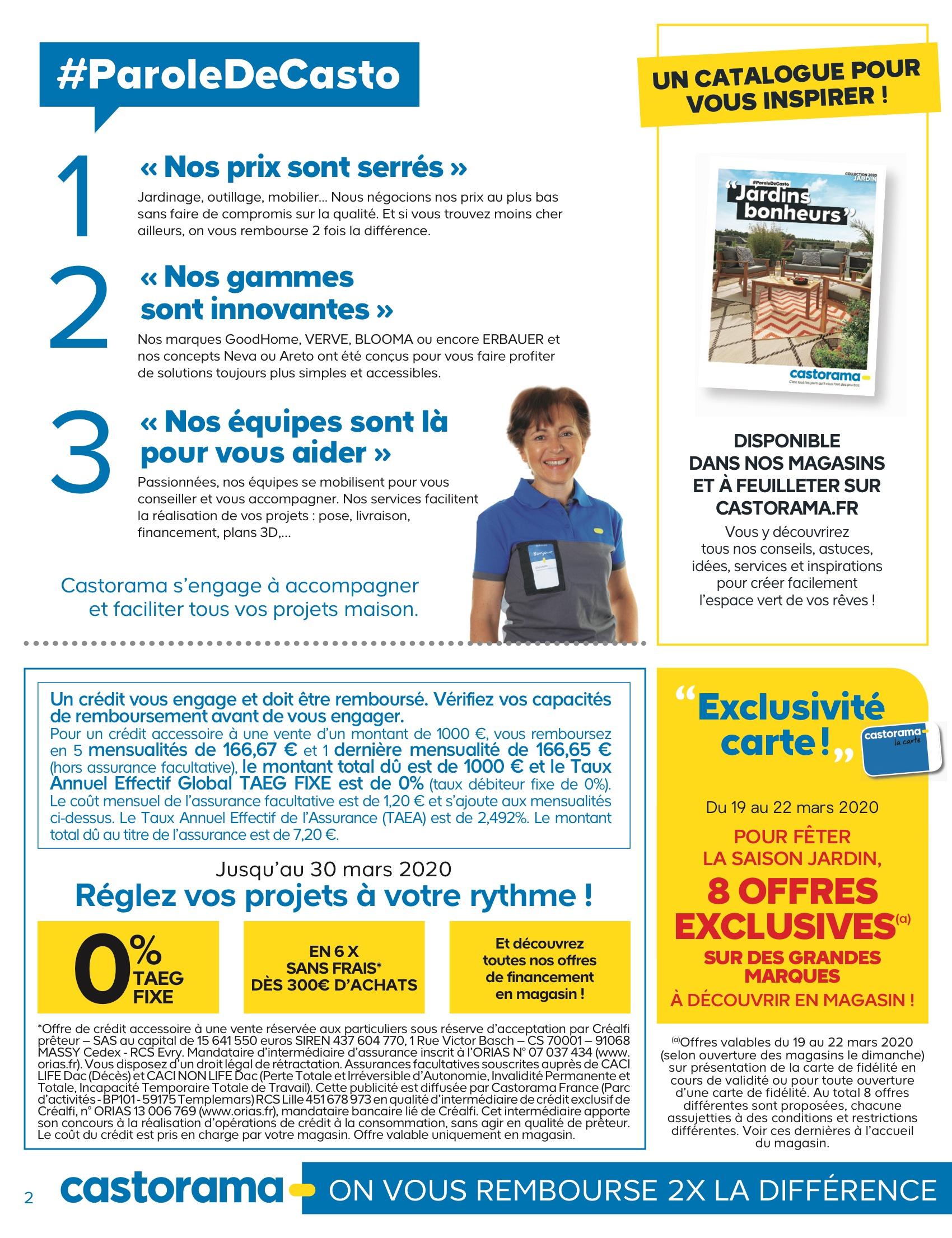 Castorama - Jardin - Mars 2020 Pages 1 - 44 - Text Version ... avec Bache Pour Serre Castorama