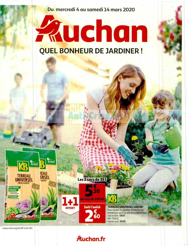 Catalogue Auchan Du 04 Au 14 Mars 2020 (Jardin) - Catalogues ... encequiconcerne Auchan Jardin