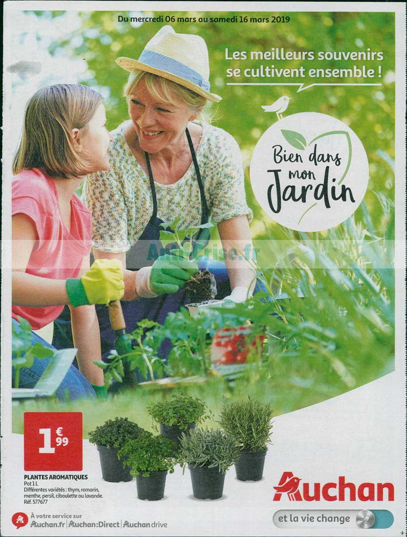 Catalogue Auchan Du 06 Au 16 Mars 2019 (Jardin) - Catalogues ... intérieur Auchan Jardin