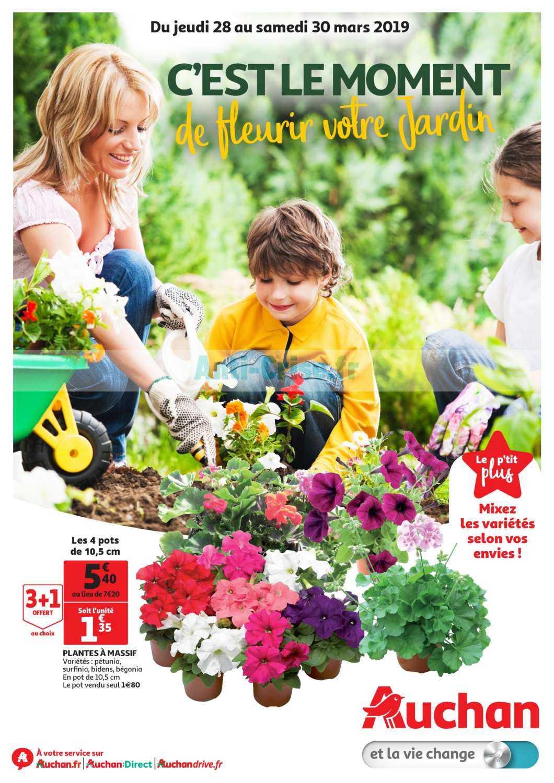 Catalogue Auchan Du 28 Au 30 Mars 2019 (Sud Jardin ... encequiconcerne Auchan Jardin