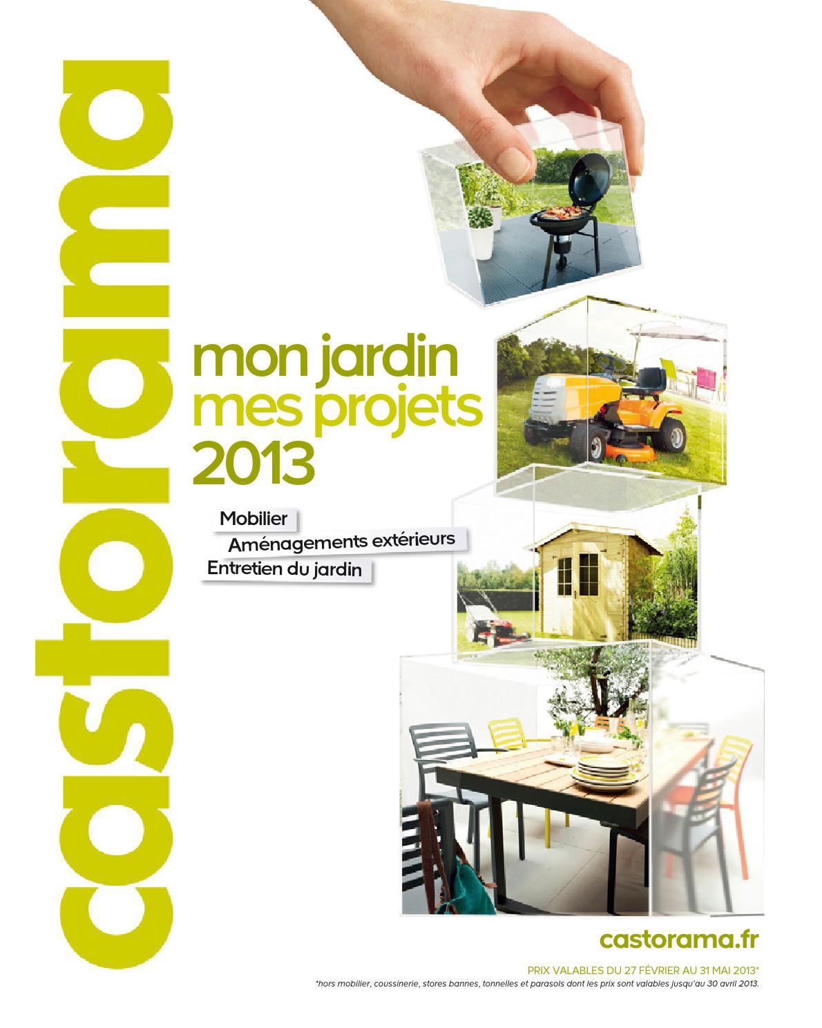 Catalogue Castorama Jardin Projets By Margot Ziegler - Issuu serapportantà Castorama Taille Haie