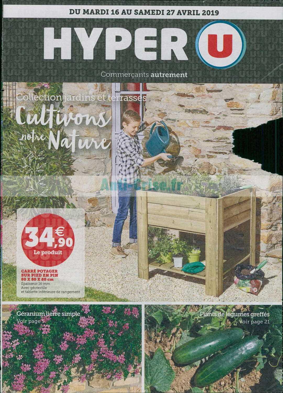 Catalogue Hyper U Du 16 Au 27 Avril 2019 (Jardin ... encequiconcerne Salon Jardin Hyper U