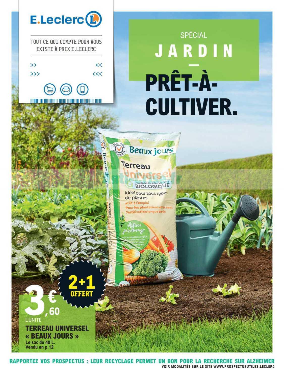 Catalogue Leclerc Du 11 Au 29 Février 2020 (Jardin ... tout Serre Leclerc