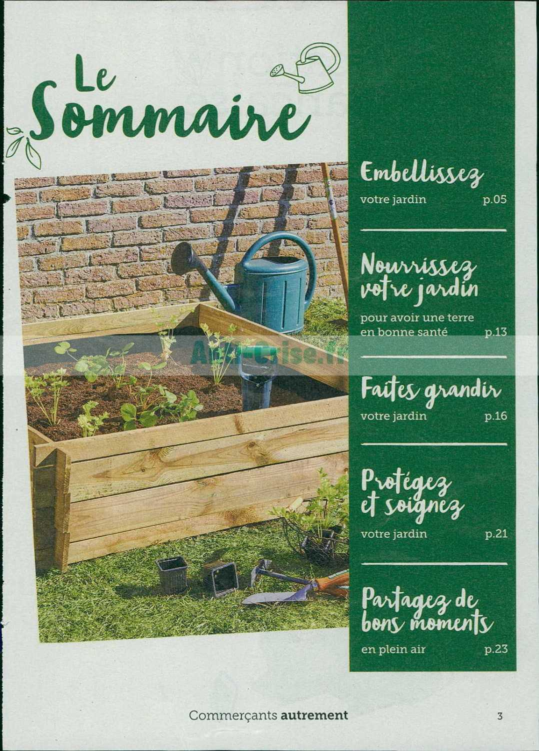 Catalogue Super U Du 05 Au 16 Mars 2019 (Jardin ... avec Super U Jatdin
