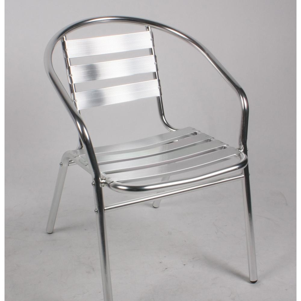 Chaise Bistrot En Aluminium destiné Chaise De Jardin Aluminium