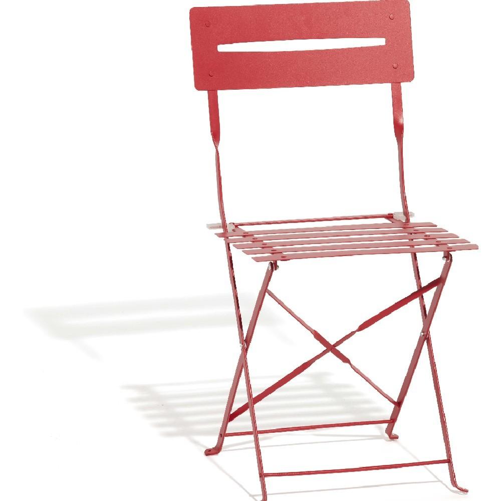Chaise De Jardin Pliante Métal Rouge pour Chaise De Jardin Pliante