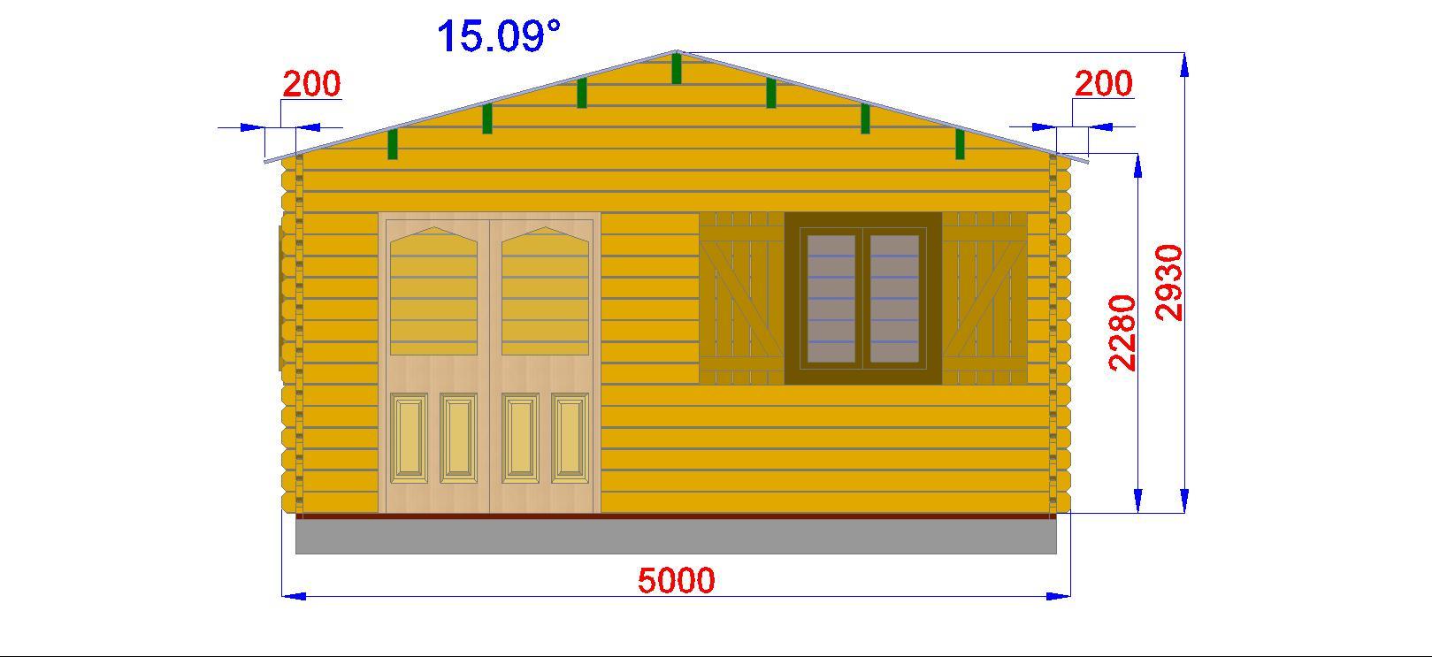 Chalet Habitable Annecy - 30M² En Bois En Kit à Chalet Habitable 30M2