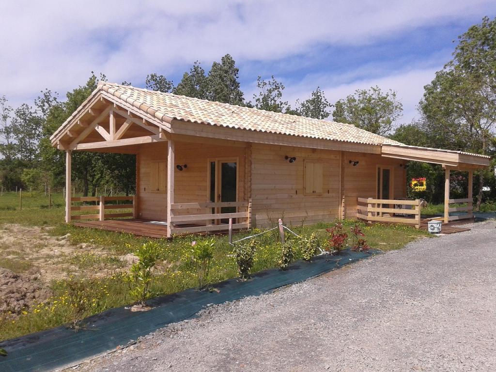 Chalet Habitable De 80M² En Bois En Kit concernant Chalet En Kit Bois