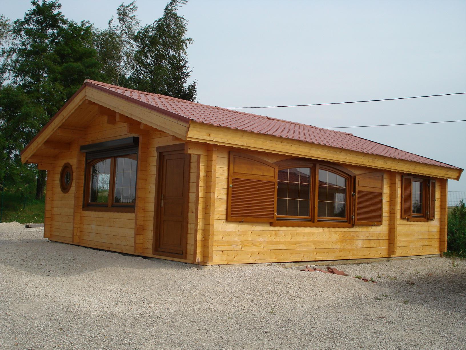 Chalet Habitable Jade | Chalet En Bois pour Chalet En Bois Habitable