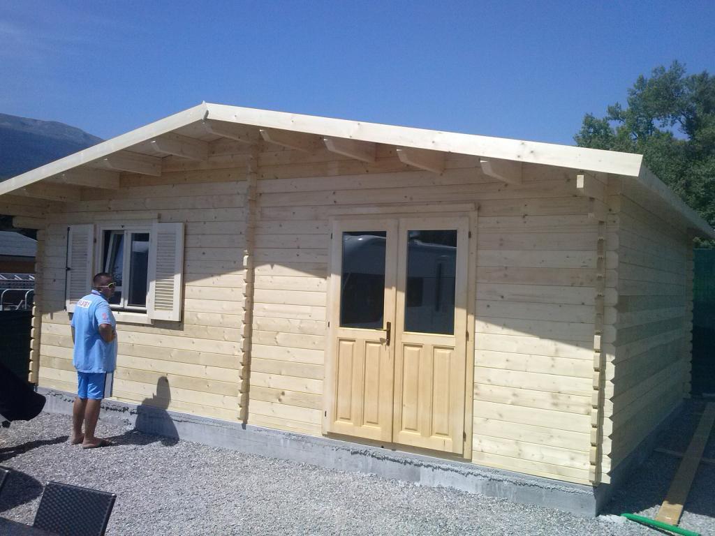 Chalet Habitable Vendée - 35M² En Bois En Kit destiné Chalet Habitable 30M2