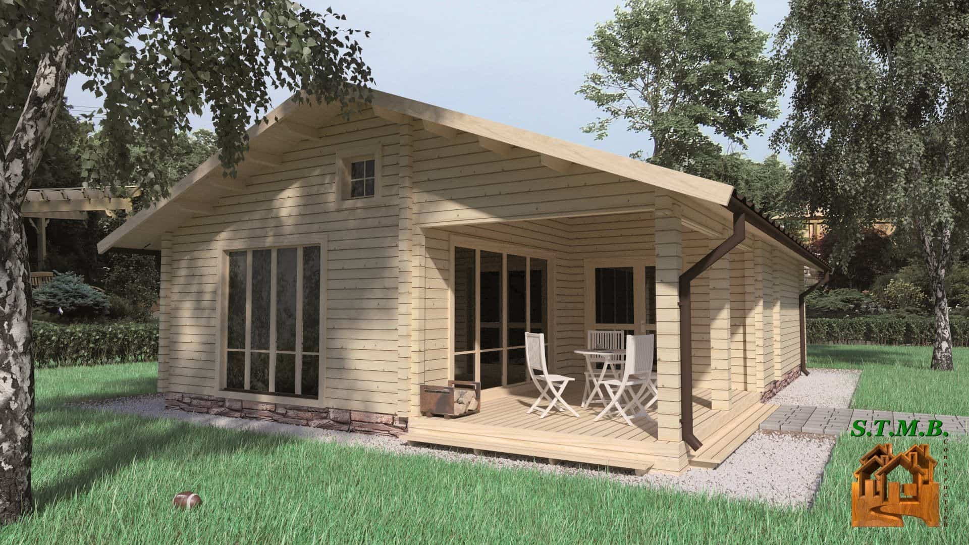 Chalet Maison Bois Kit - Le Meilleur Des Maisons Bois En Kit ... avec Chalet Habitable Pas Cher