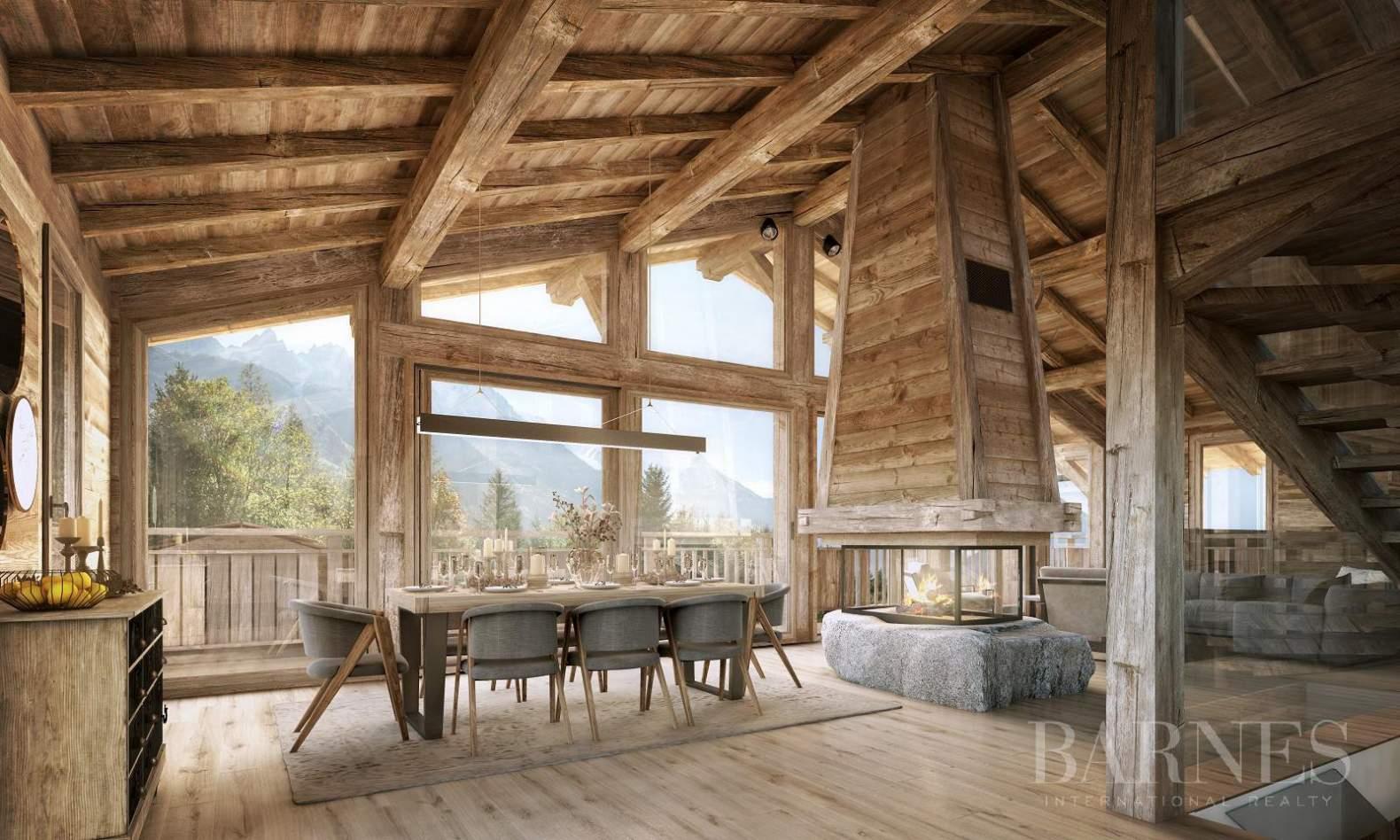 Chalet Neuf - 5 Chambres En Suite - Magnifique Vue Mont ... pour Achat Chalet Chamonix