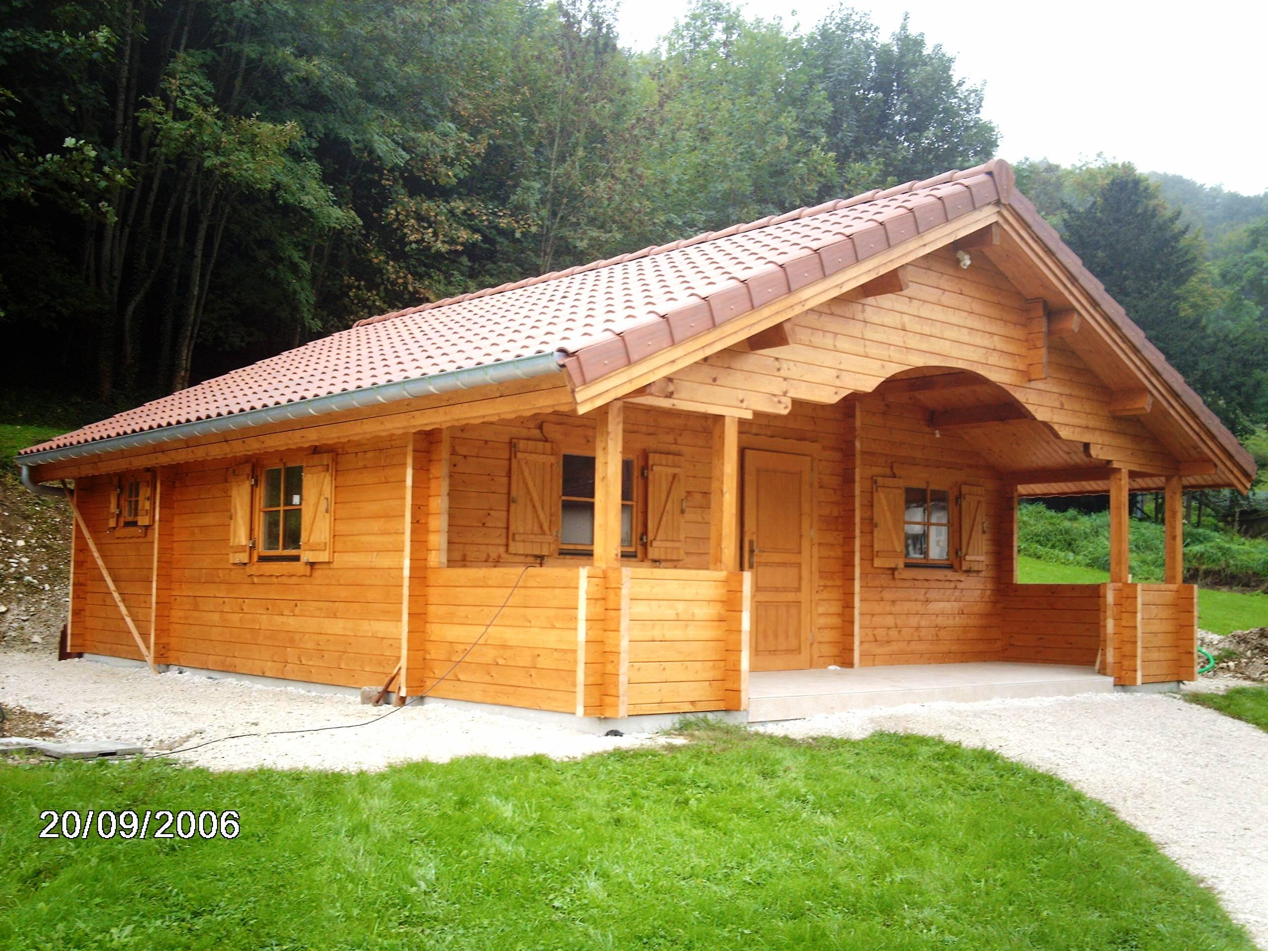 Chalet Préfabriqué | Chalet En Bois intérieur Chalet En Bois Habitable D Occasion