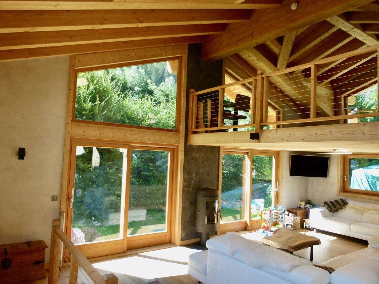Chamonix-Mont-Blanc, Chalet, 1 359 000 Euros Sur Immobilier.lefigaro.fr serapportantà Achat Chalet Chamonix