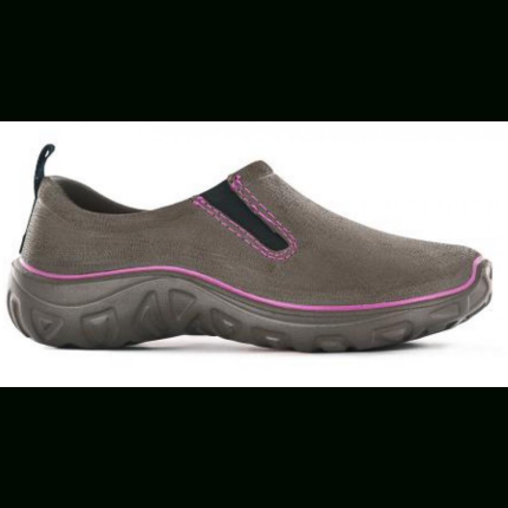 Chaussures De Jardin Derby - Marron Fuschia Blackfox Sur Bricozor à Chaussure Jardin