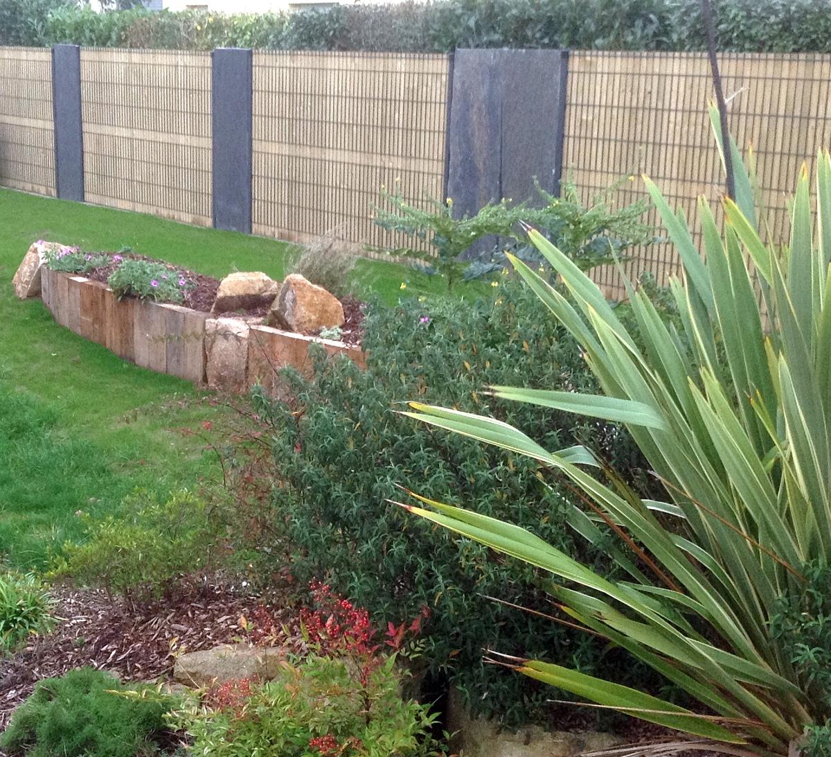 Clôture, Portail, Muret Pour Votre Jardin - Ameline Arbora pour Brise Vue Cloture Jardin