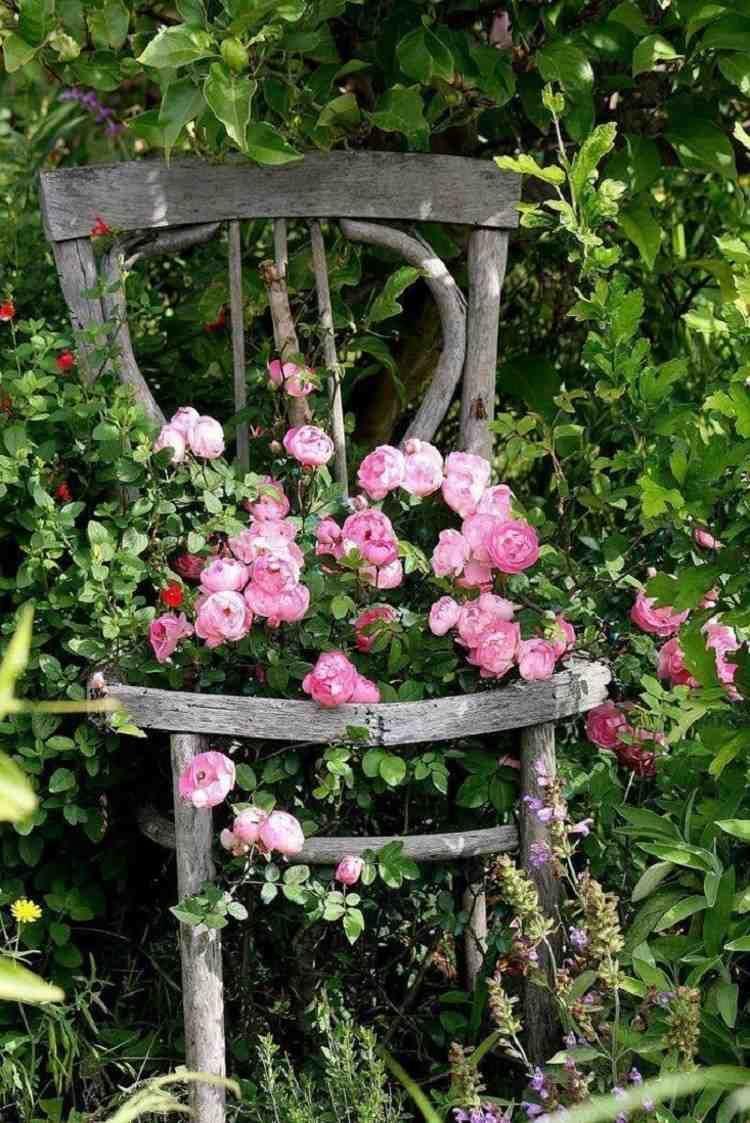 Comment Aménager Un Jardin Romantique? Conseils Et Idées En ... avec Composer Un Jardin