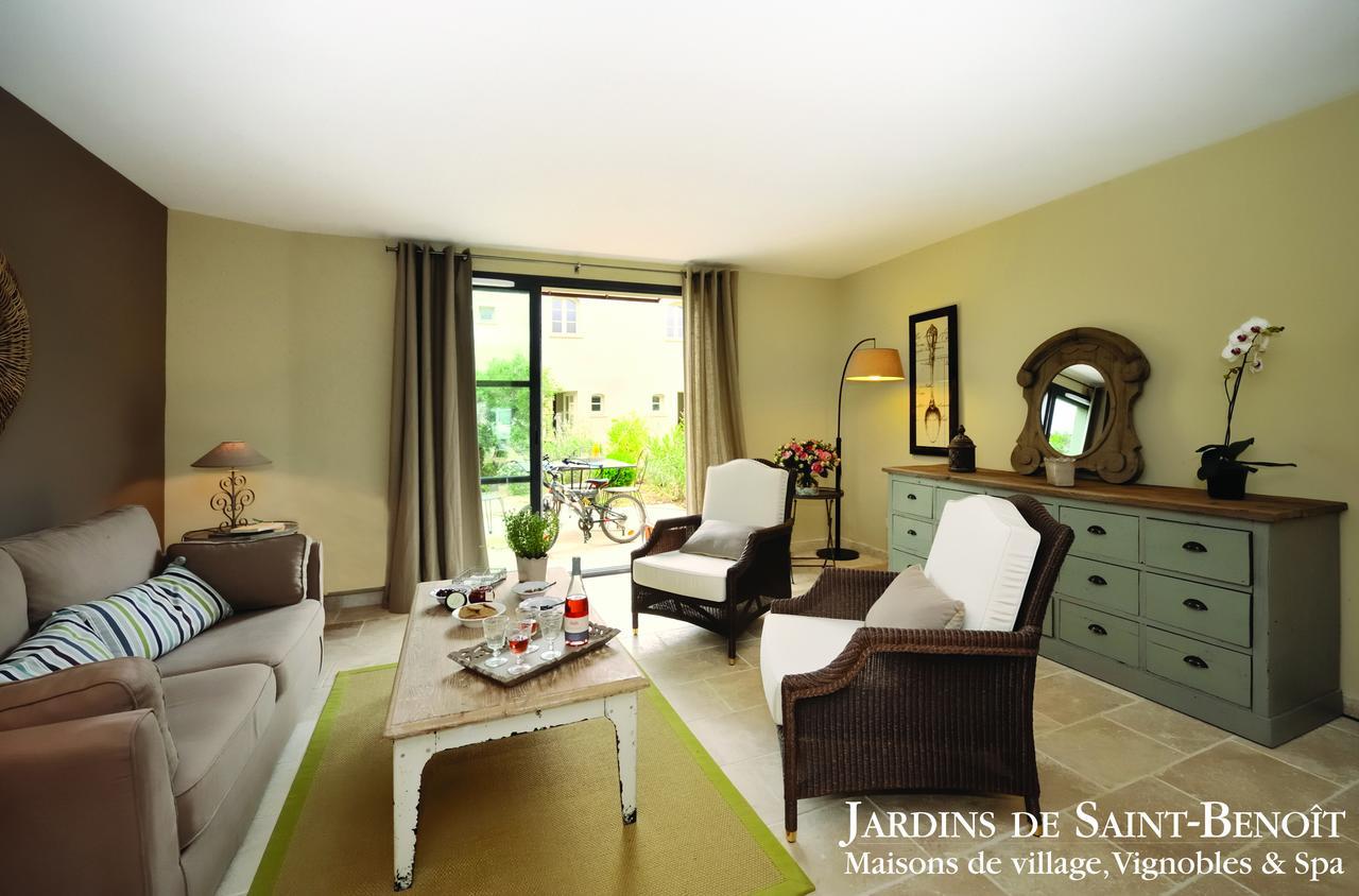 Condo Hotel Les Jardins De Saint Benoit, Saint-Laurent-De-La ... à Les Jardins De St Benoit Spa