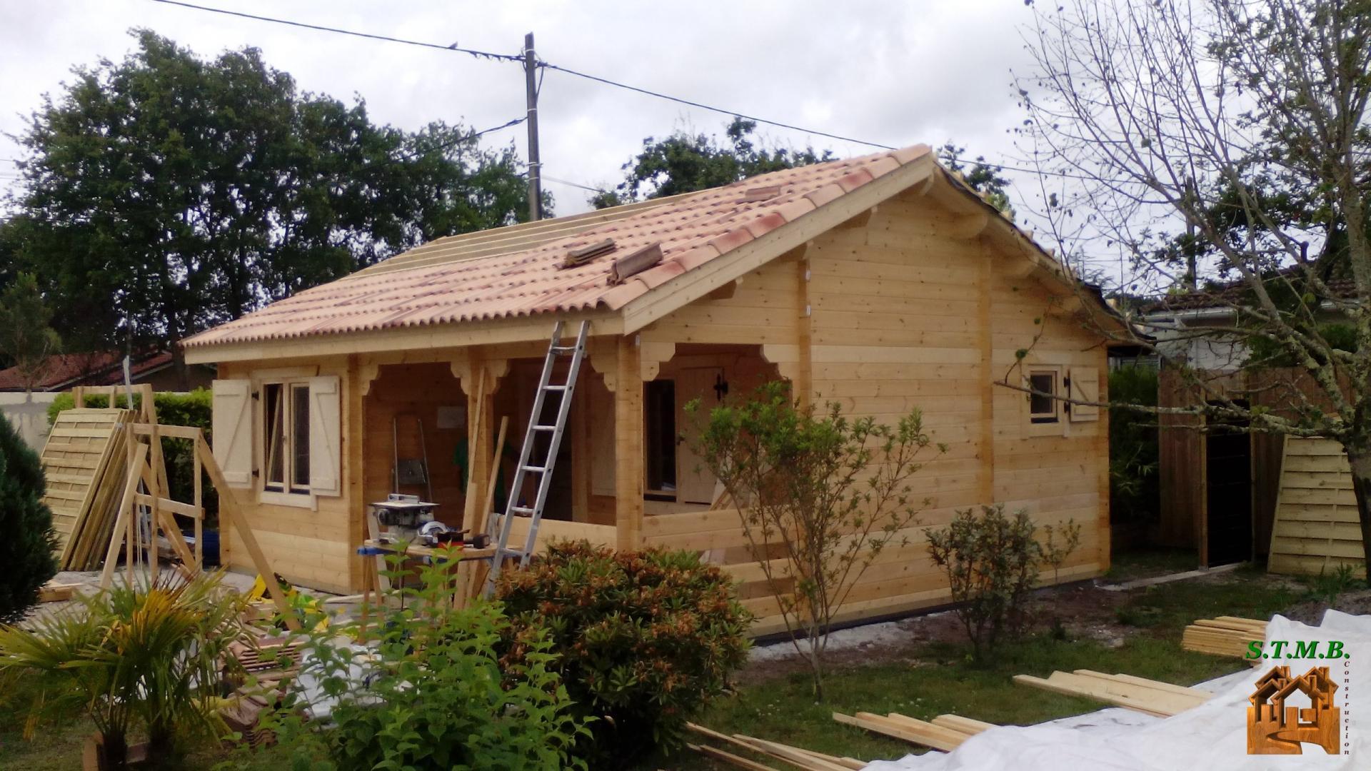 Construire Un Chalet En Bois Habitable - Construction Et ... serapportantà Chalet Bois En Kit