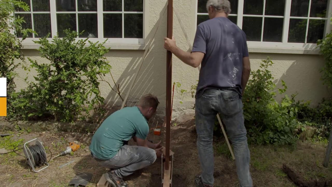 Construire Une Clôture Pare-Vue À Partir D'éléments Préfabriqués pour Brise Vue Hornbach