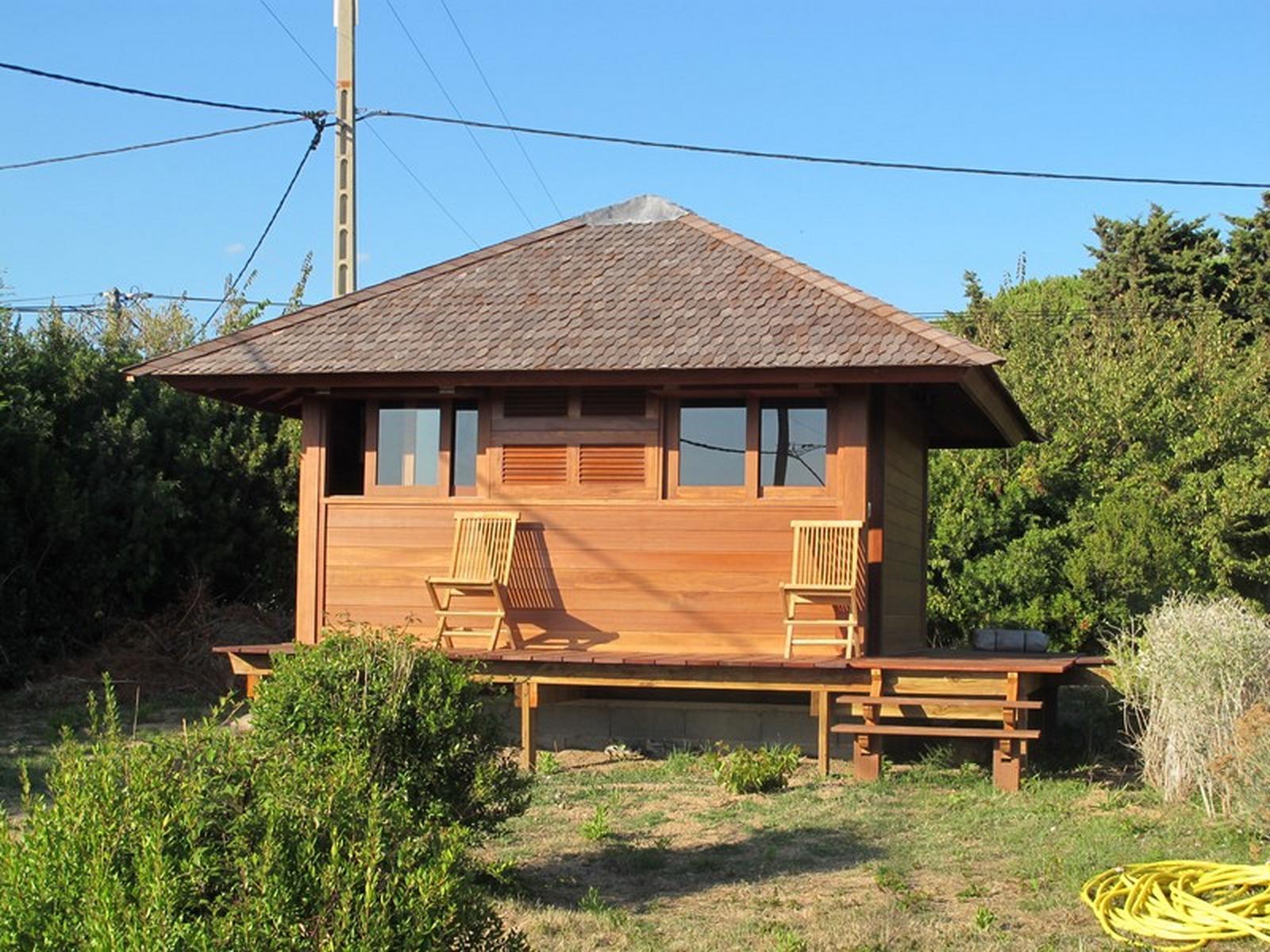 Cottage-Bungalows Pavillons Bois En Kit Avec Mobiteck ... concernant Bungalow Bois En Kit