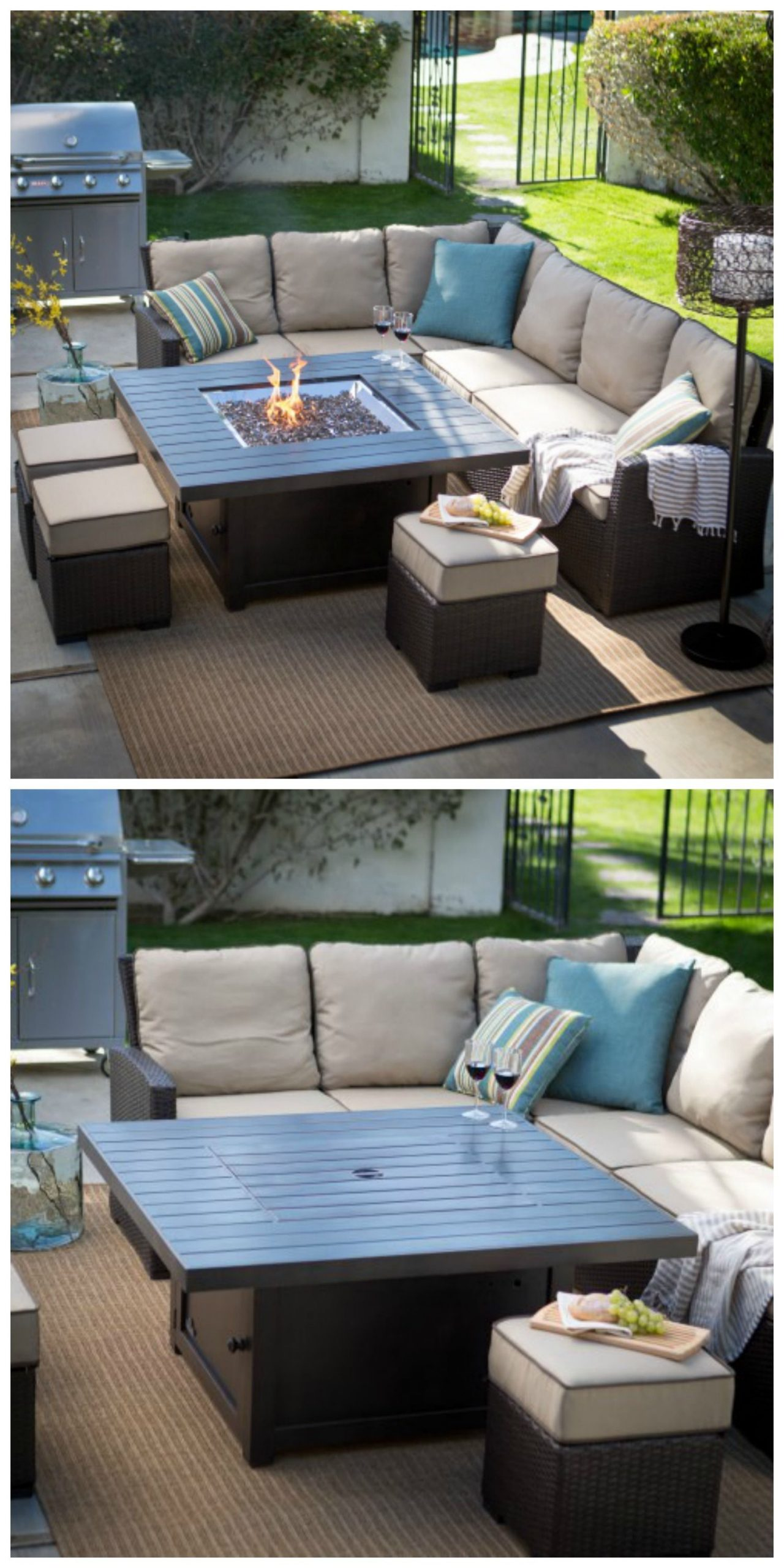Could Go Well On The Loft Deck. The Table Is Pretty Cool ... pour But Salon Jardin