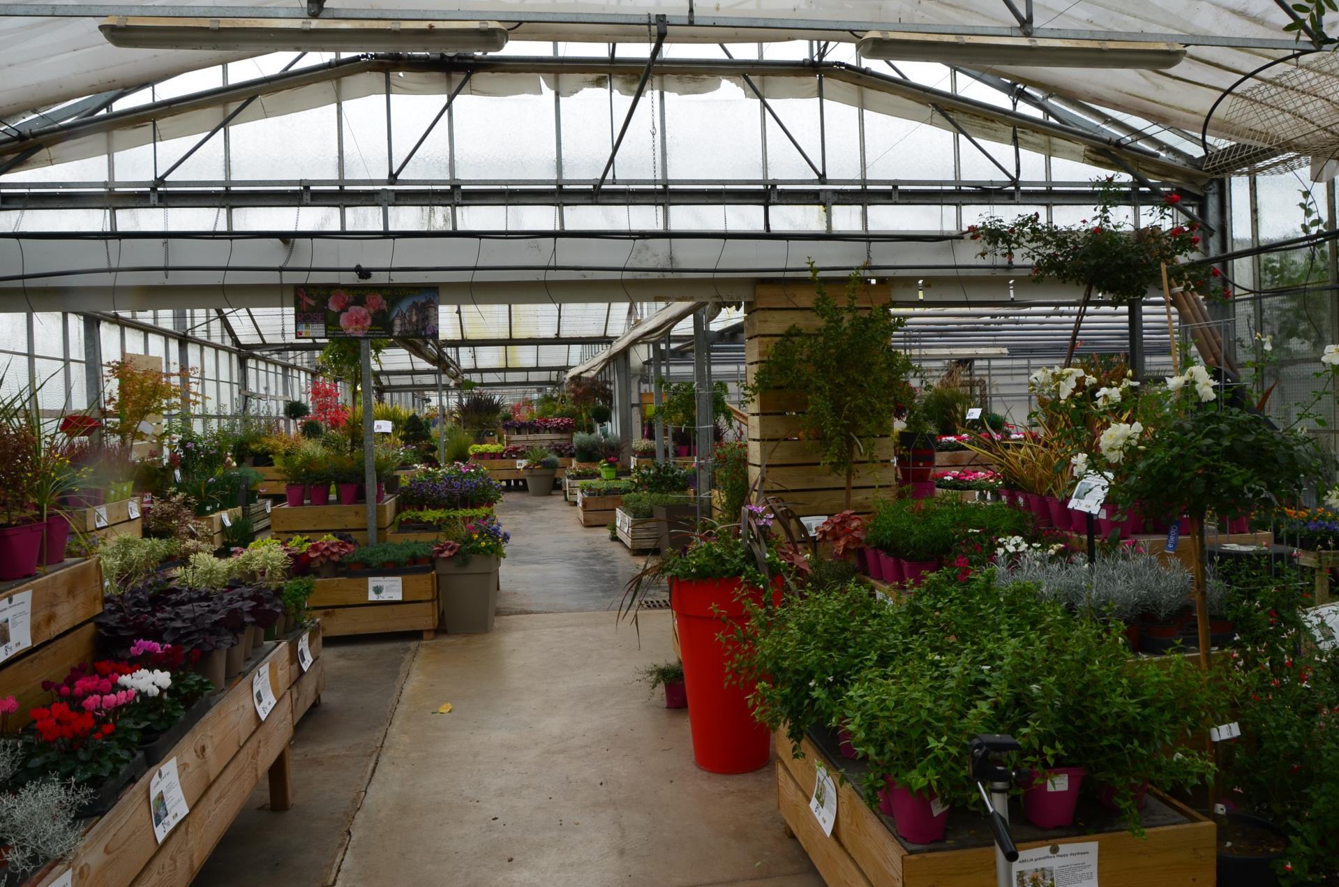 Couleurs Jardin - Horticulteur Et Pépiniériste À Clinchamps ... encequiconcerne Pot Couleur Jardin