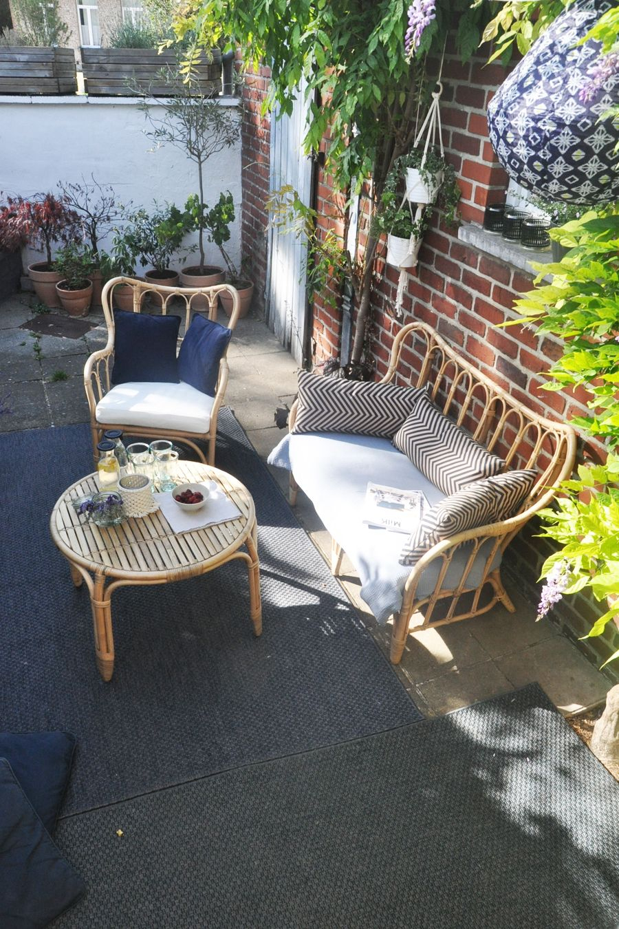 Créer Une Ambiance Tropicale Sur Son Balcon Salon En Rotin ... pour Meubles Jardin Ikea