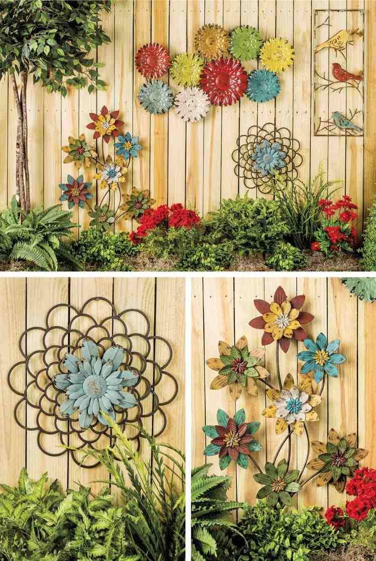 Cuisine: Fresques Dã©Cor & Trompe L'oeil Hard Deco ... serapportantà Decoration Murale Pour Jardin