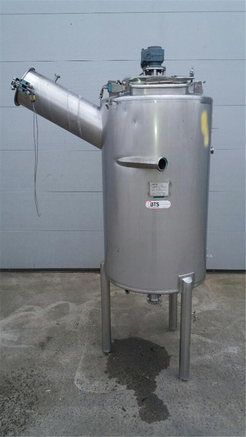 Cuve De Mélange D'occasion, Inox 304 1000 Liter - Bts Tank ... dedans Autoclave Occasion