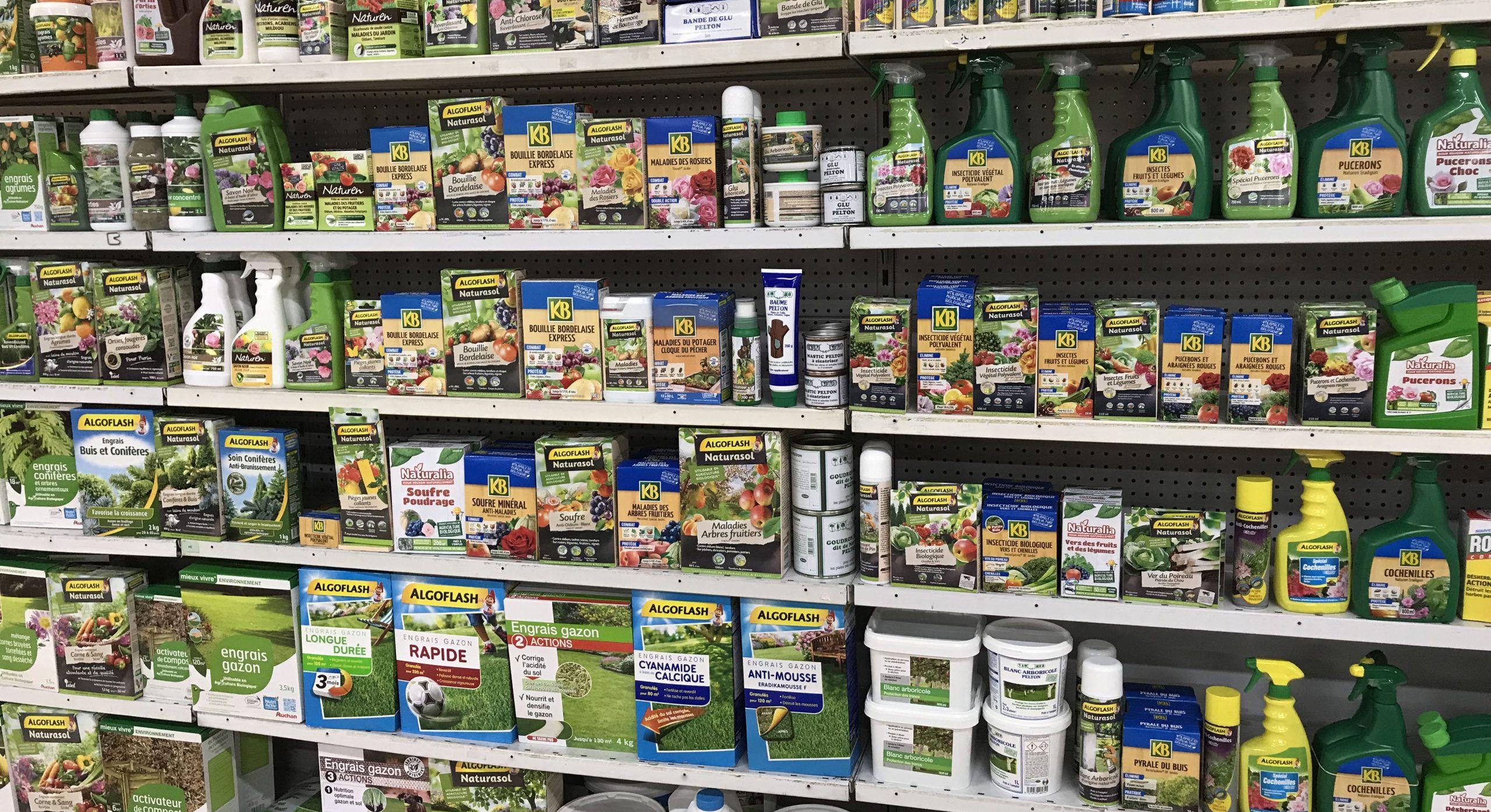 Dans Ses Rayons Jardin, Auchan Retail France Retire Les ... concernant Auchan Jardin