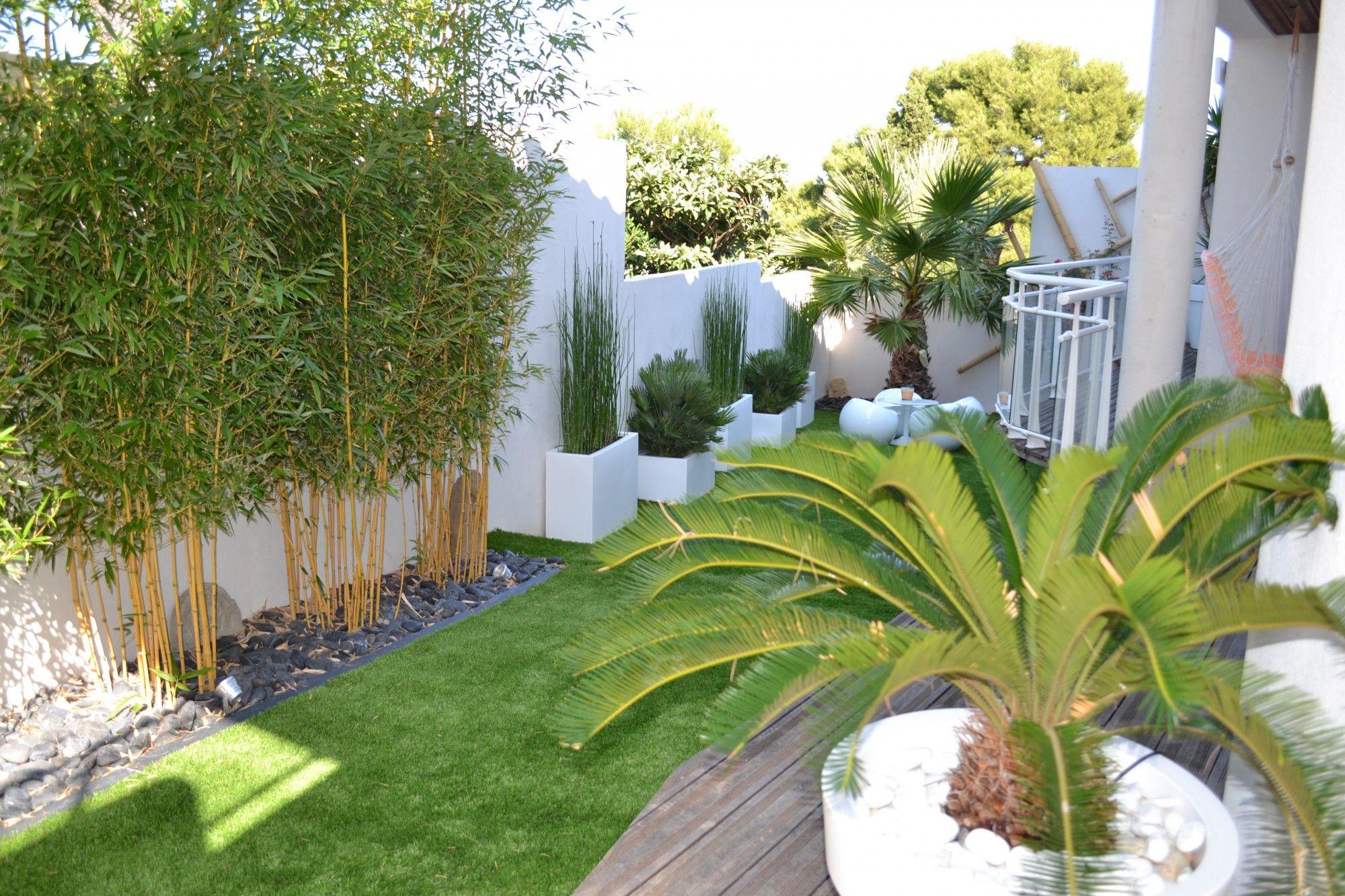 Déco : Jardin Moderne Bambou 77 ~ Nimes, Bern, Jardin ... tout Deco Jardin Bambou