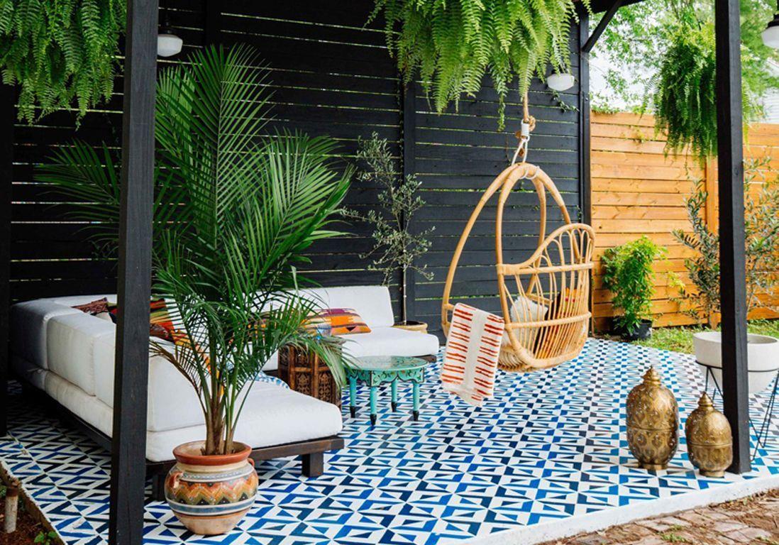 Déco : Les Tendances De L'été Repérées Sur Pinterest - Elle ... pour Deco Jardin