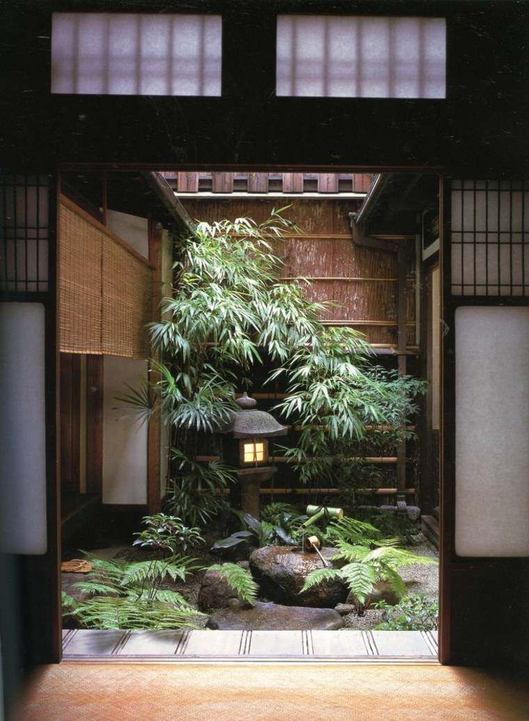 Déco Zen Et Petit Jardin D'intérieur | 禅庭, 日本庭園, 和 ... tout Decoration D Un Petit Jardin
