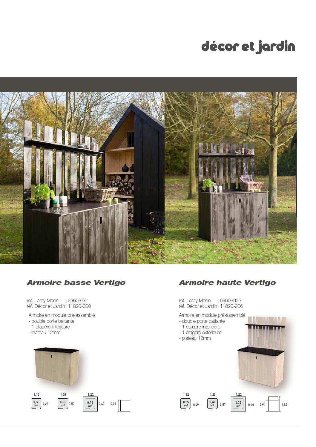 Décor Et Jardin Catalogue Leroy Merlin By Cras Woodgroup - Issuu intérieur Porte De Jardin Leroy Merlin