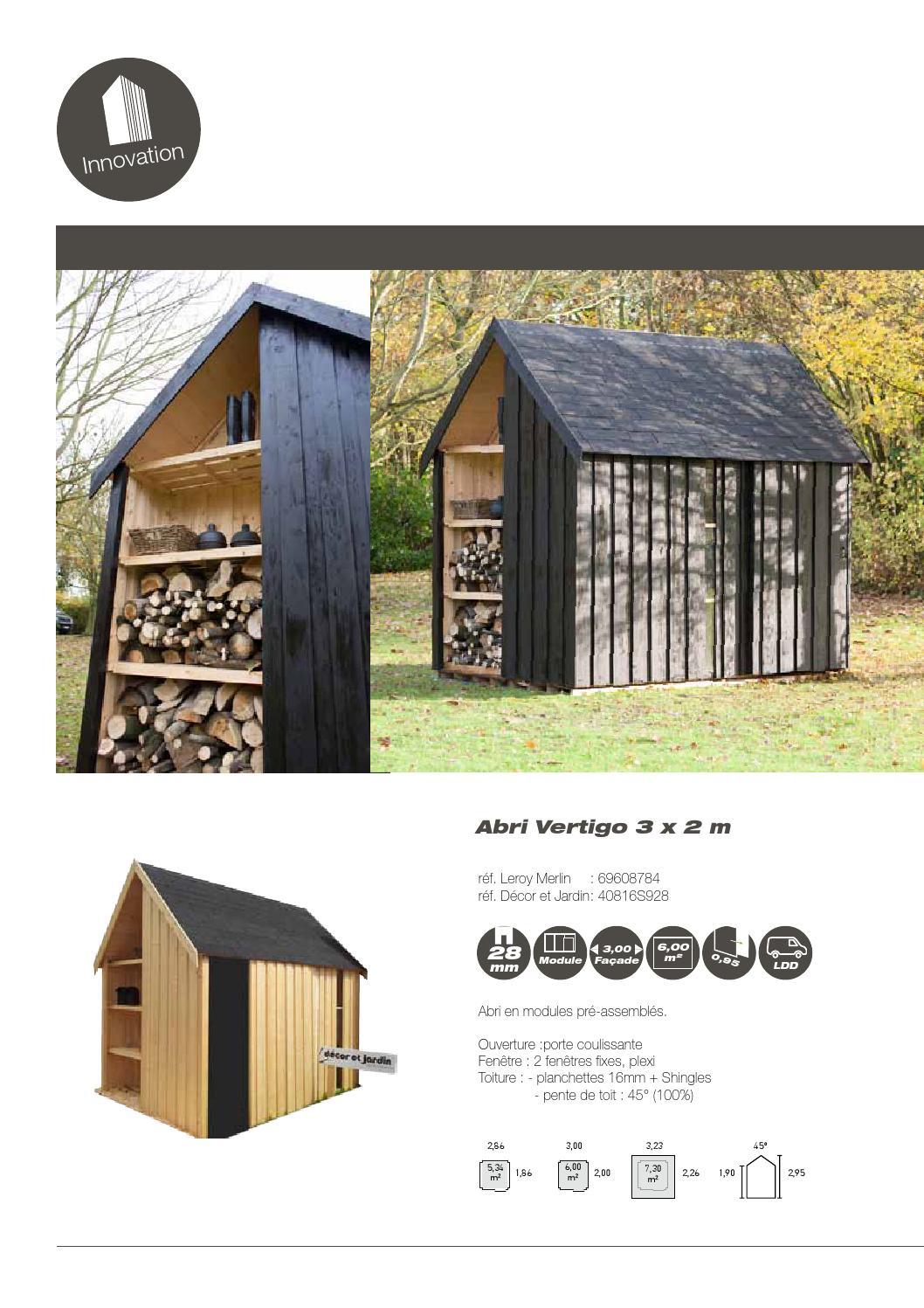 Décor Et Jardin Catalogue Leroy Merlin By Cras Woodgroup - Issuu tout Porte De Jardin Leroy Merlin